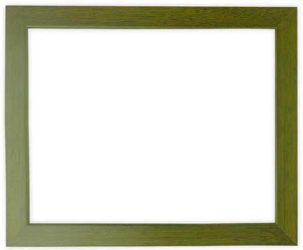 デッサン額縁 歩-8/オリーブ インチサイズ(254×203mm)☆前面ガラス仕様☆