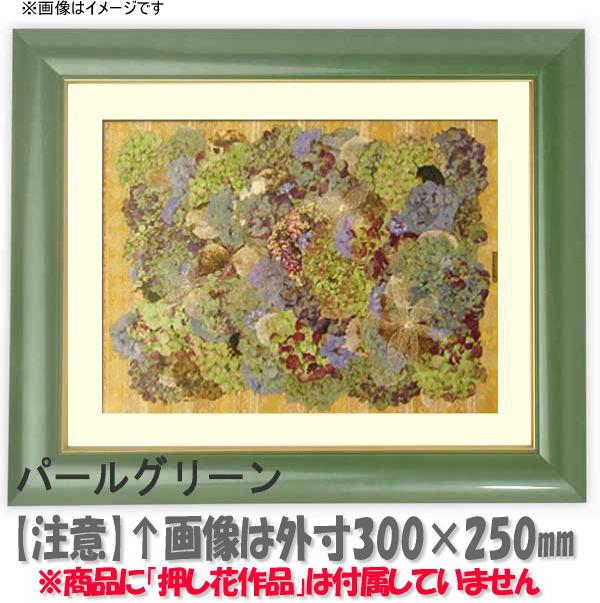 押し花額縁 30009/パールグリーン 大衣サイズ(ガラス506×391mm)【os-B】