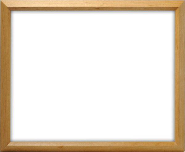 デッサン額縁 D711/木地 八つ切サイズ(303×242mm) ☆前面ガラス仕様☆【ラーソン・ジュール】