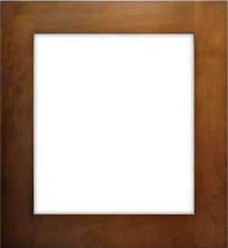 色紙額縁 W786/オーク 普通色紙(272×242mm) ☆前面ガラス仕様☆【bt-st】【絵画/壁掛け/インテリア/玄関/アートフレーム】