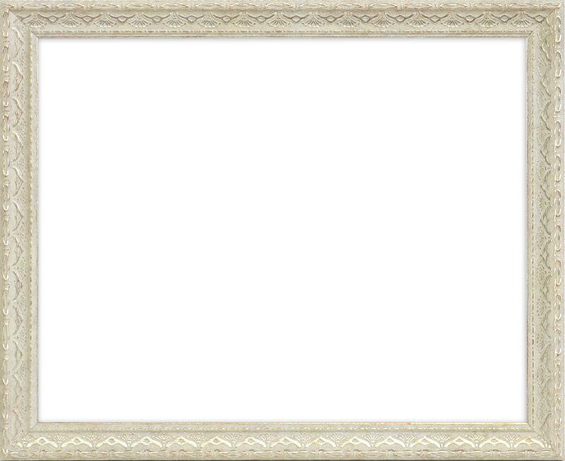 デッサン額縁 アデル/ライトシルバー 八つ切サイズ(303×242mm) ☆前面アクリル仕様☆ 【ラーソン・ジュール】