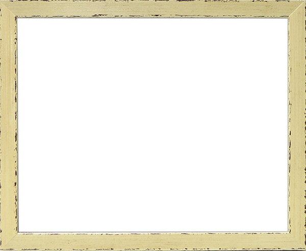 デッサン額縁 コモド/白 八つ切(303×242mm)☆前面ガラス仕様☆【ラーソン・ジュール】【絵画/壁掛け/インテリア/玄関/アートフレーム】