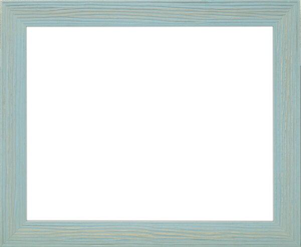デッサン額縁 ウェーブ/青 インチ(254×203mm)☆前面ガラス仕様☆【ラーソン・ジュール】