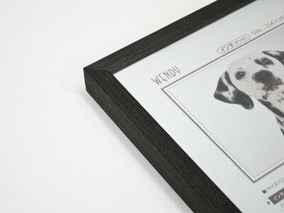 デッサン額縁ウェンディ/黒インチサイズ(254×203mm)☆前面アクリル仕様☆【ラーソン・ジュール】