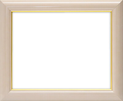 押し花額縁30009/パールピンク押し花4号サイズ(ガラス寸法357×327mm)【木製額縁】【押し花用額縁】正面画像