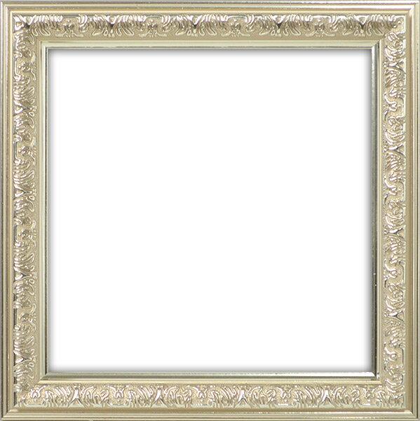 正方形額縁 シャイン/シルバー 150角(150×150mm) ☆前面ガラス仕様☆