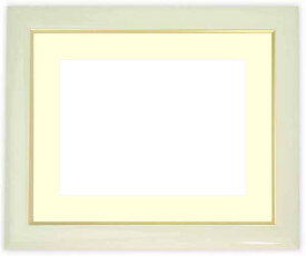 押し花額縁 J501/白 60額サイズ(ガラス寸法604×453mm)【os-C】【絵画/壁掛け/インテリア/玄関/アートフレーム】