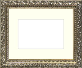 押し花額縁 420型/シルバー 36額サイズ(ガラス寸法358×288mm)【os-C】 【模様・色に仕様変更有り】【絵画/壁掛け/インテリア/玄関/アートフレーム】