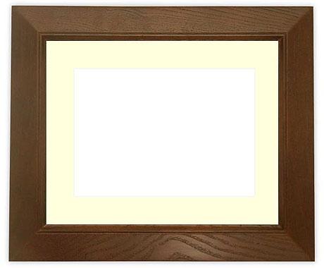 写真用額縁 Bフレーム/外流れ Lサイズ(127×89mm)専用【写真額】☆前面ガラス仕様☆マット付き【写真額縁】