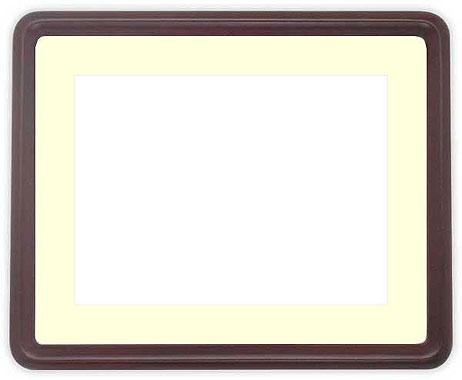 写真用額縁 D717/セピア A3(420×297mm)専用【写真額】☆前面ガラス仕様☆マット付き【写真額縁】