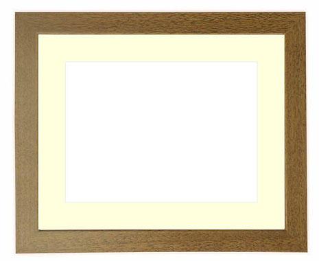 写真用額縁 歩-8/グレー 写真八つ切(216×165mm)専用【写真額】☆前面ガラス仕様☆マット付き【写真額縁】