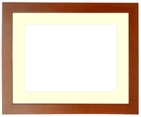 写真用額縁 歩-8/ローズ A4(297×210mm)専用【写真額】☆前面ガラス仕様☆マット付き【写真額縁】