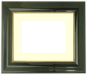 押し花額縁 681/黒 小全紙サイズ(ガラス寸法657×506mm)【os-B】【絵画/壁掛け/インテリア/玄関/アートフレーム】