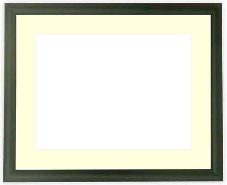 写真用額縁 713/黒 パノラマ(254×89mm)専用【写真額】☆前面ガラス仕様☆マット付き【写真額縁】