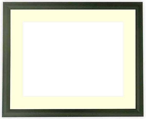 写真用額縁 713/黒 A4(297×210mm)専用【写真額】☆前面ガラス仕様☆マット付き【写真額縁】