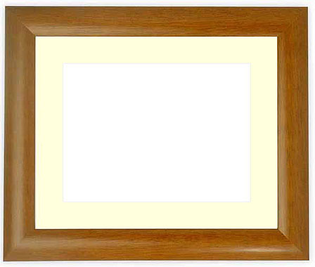 水彩額 5021/桜 水彩F8(455×380mm)専用 ☆前面ガラス仕様☆マット付き