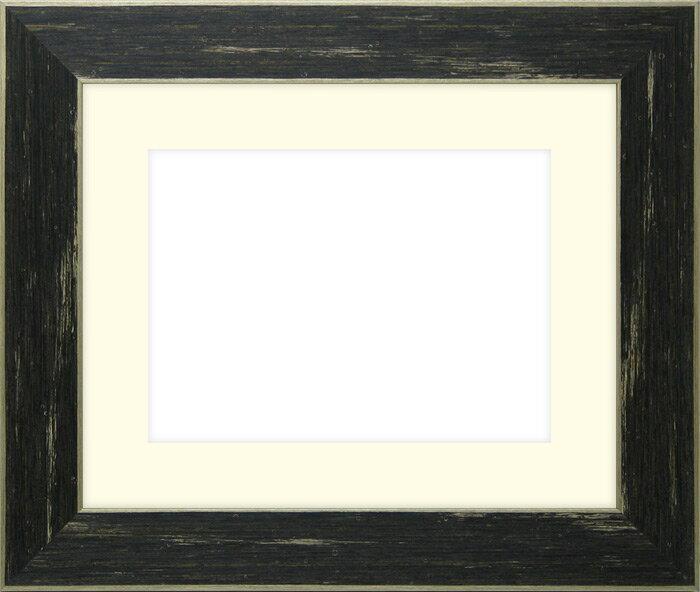 写真用額縁 ブレスト A4(297×210mm)専用☆前面ガラス仕様☆マット付き