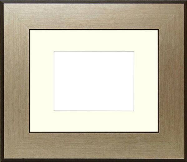 写真用額縁 シルバニスト パノラマ(254×89mm)専用☆前面ガラス仕様☆マット付き