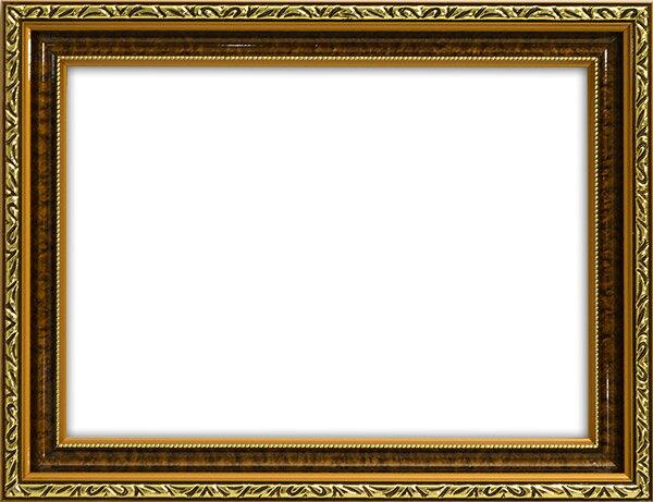 高級賞状額縁 「金雲(きんくも)」 八二サイズ(394×273mm)☆前面ガラス仕様☆
