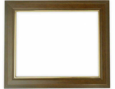 高級賞状額縁「魁No.5/ブラウン(さきがけ)」八二サイズ賞状(394×273mm)専用【木製額縁】【賞状用額縁】正面画像