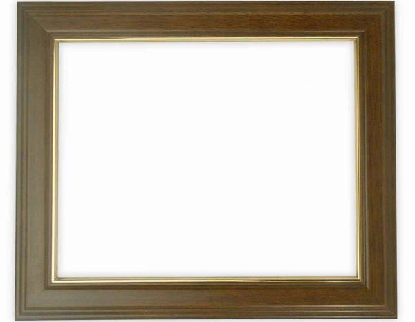 デッサン額縁 魁No.5/ブラウン インチサイズ(254×203mm)☆前面ガラス仕様☆