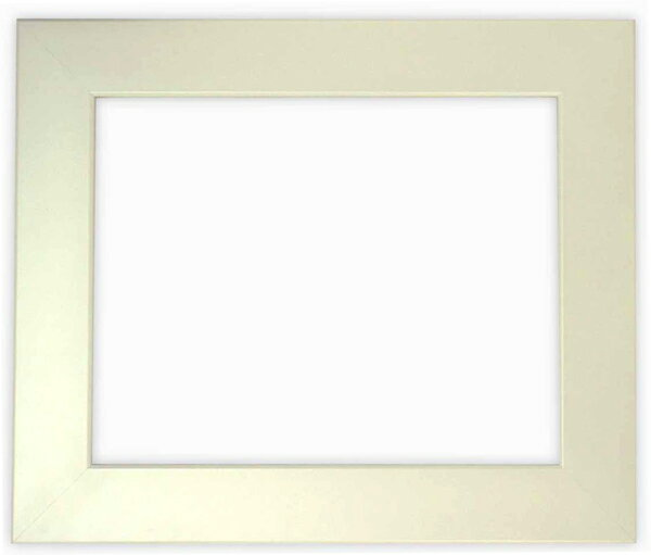 デッサン額縁 5659/パールホワイト 小全紙サイズ(660×509mm)☆前面ガラス仕様☆