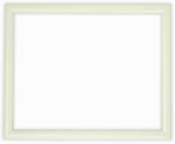 デッサン額縁 713/白 小全紙サイズ(660×509mm)☆前面ガラス仕様☆