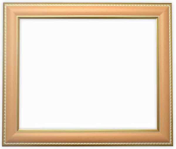 デッサン額縁 9614/オレンジ インチサイズ(254×203mm)☆前面ガラス仕様☆【9614/オレンジ/インチ/ガ】