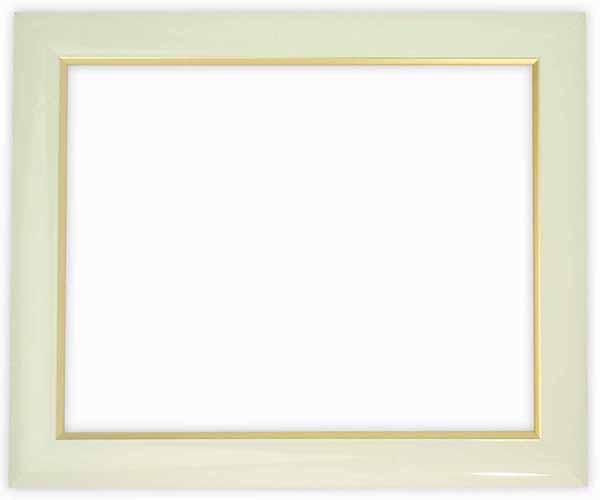 デッサン額縁 J501/白 インチサイズ(254×203mm)☆前面ガラス仕様☆【J501/インチ/ガ】【bt-st】