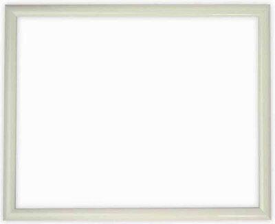 デッサン額縁J型/白三三サイズ(606×455mm)【木製額縁】【デッサン額縁】正面画像