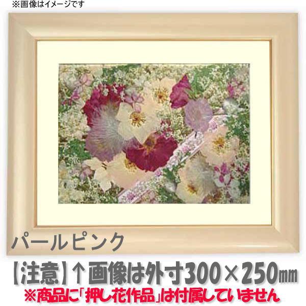 押し花額縁 30009/パールピンク 大衣サイズ(ガラス506×391mm)【os-B】