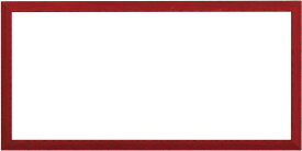 横長額縁 コモド/赤 500×250mm ☆前面ガラス仕様☆【ラーソン・ジュール】【絵画/壁掛け/インテリア/玄関/アートフレーム】