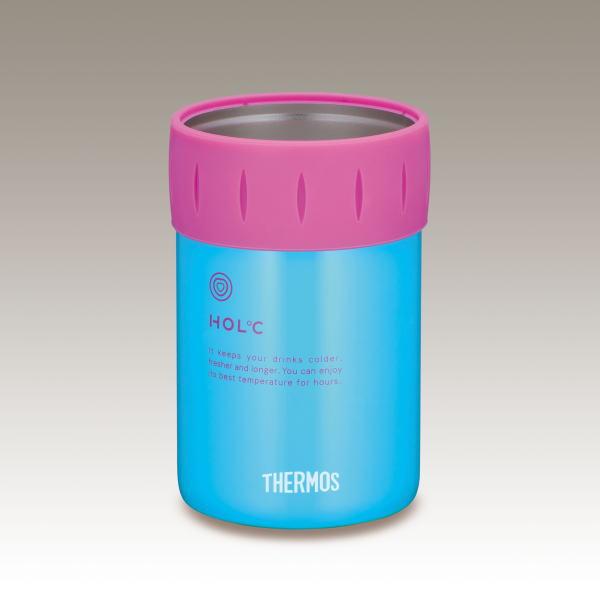 サーモス 真空断熱保冷缶ホルダー JCB-351 BL
