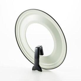 ガラス窓付きフライパンカバー シンプルライフ 24〜26cm用 YJ2029