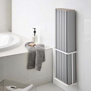 tower マグネットバスルーム折り畳み風呂蓋ホルダー タワー ホワイト【北海道、沖縄への配送不可】