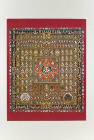仏画ポスター 胎蔵界曼荼羅