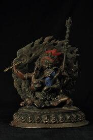 大黒天(マハーカーラ) 銅造彫金仕上げ