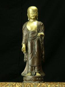 地蔵菩薩 銅造鍍金彫金仕上げ 一点もの