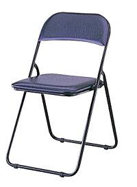 折りたたみチェア折りたたみパイプ椅子背もたれ付きCX-201D