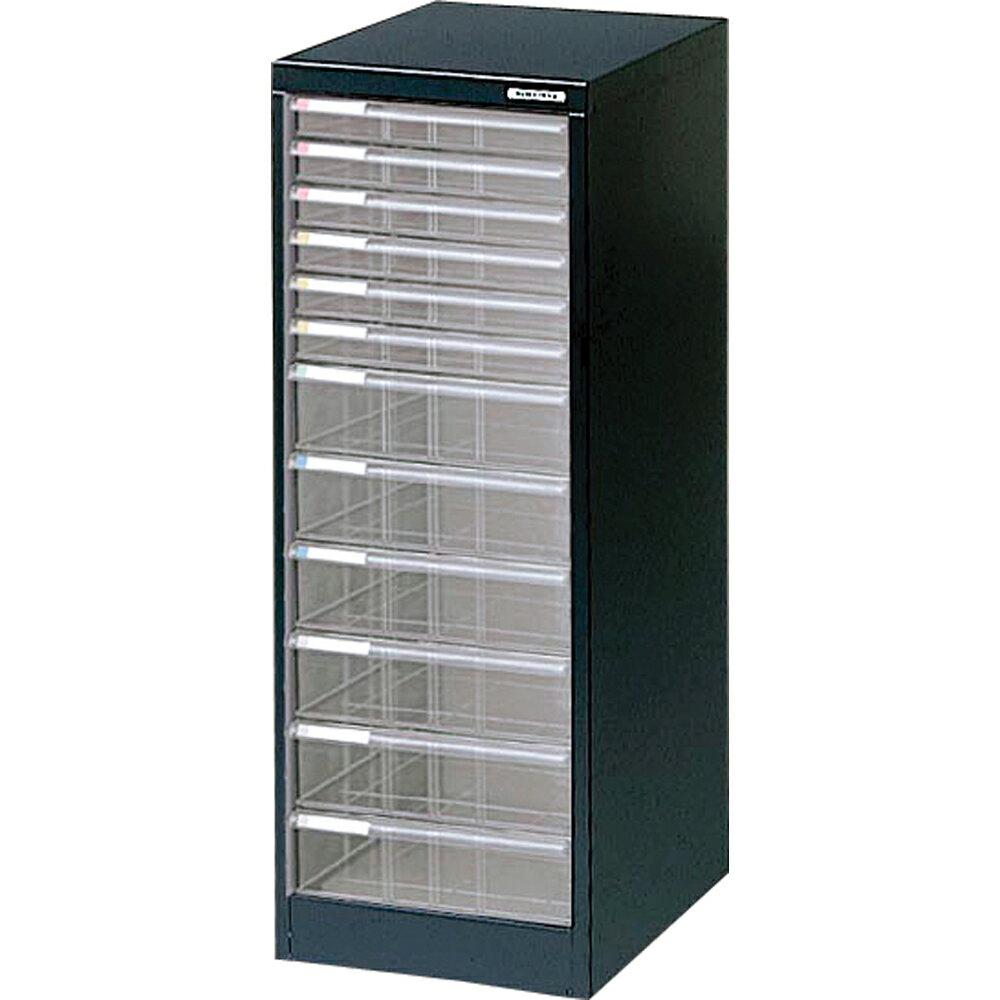 収納ボックス フロアケース 書類ボックス 収納ケース 書類ケース 引き出し 書類収納 スチール BF-H12 クロ