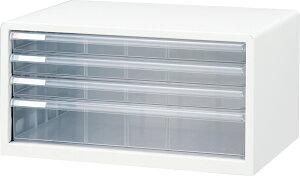 収納ボックス レターケース 書類ボックス 収納ケース 書類ケース 引き出し 書類収納 スチール A3L-44 シロ