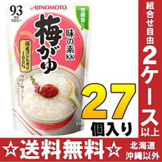 Ajinomoto KK rice porridge plum がゆ 250 g 27 case [AJINOMOTO rice gruel plum]
