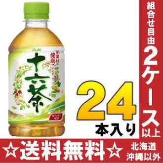 Asahi 16 tea 350 ml pet 24 pieces [blend tea zero caffeine.