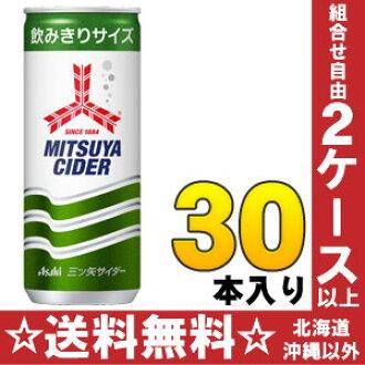 朝日光弥苹果酒 250 毫升罐 30 件]