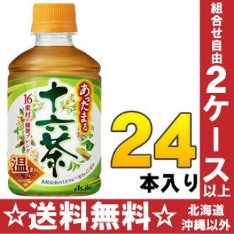 Warm up Asahi 16 tea 275 ml pet 24 pieces