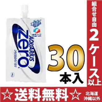 Coca-Cola Aquarius zero 300 g pack 30 Motoiri [opening collar tomorrow calorie zero sports drinks]