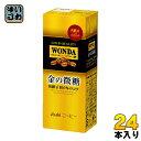 アサヒ ワンダ WONDA 金の微糖 200ml 紙パック 24本入〔WONDA コーヒー 珈琲〕
