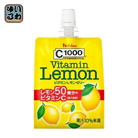 〔クーポン配布中〕 ハウスウェルネス C1000 ビタミンレモンゼリー 180gパック 24個入 〔ゼリー飲料〕