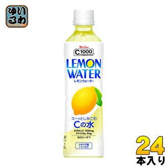 House wellness C1000 lemon water 500 ml plastic bottle 24 Motoiri [C-1000 sea sen vitamin C]