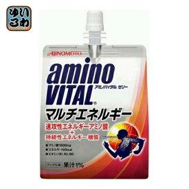 味の素 アミノバイタルゼリー マルチエネルギー 180g パウチ 30個入 〔ゼリー飲料〕